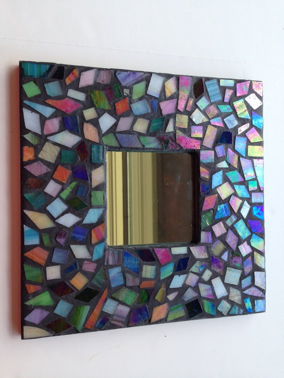 Mosaic Kit Mirror Make Your Own Stained Glass Mosaic