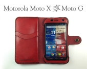 Leather Motorola Moto X W...