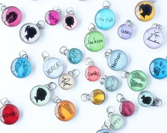 Upgrade to YOUR CHILD'S Signature 12 mm charm