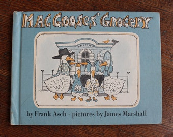 Vintage Children's Book - MacGooses' Grocery By Frank Ash (Parents Magazine - 1978)