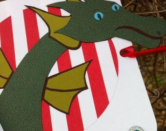 Puff the Magic Dragon Custom Birthday Banner