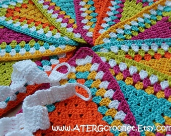 GARLAND by ATERGcrochet (ready to ship)