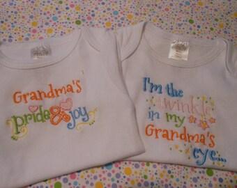 Baby Bodysuit Grandma Theme