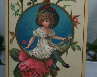 Antique Advertising Trade Card - Clothing