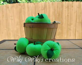 Felt Food Green Apple
