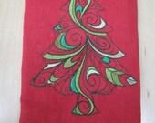 Christmas Tree Towel - EXTRA STOCK