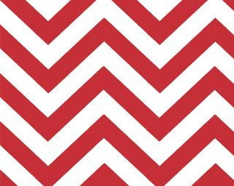 Chevron, Zig Zags by Moda, Chevron Fabric, Ruby Fabric, Red Chevron Fabric, Red Fabric, 02231