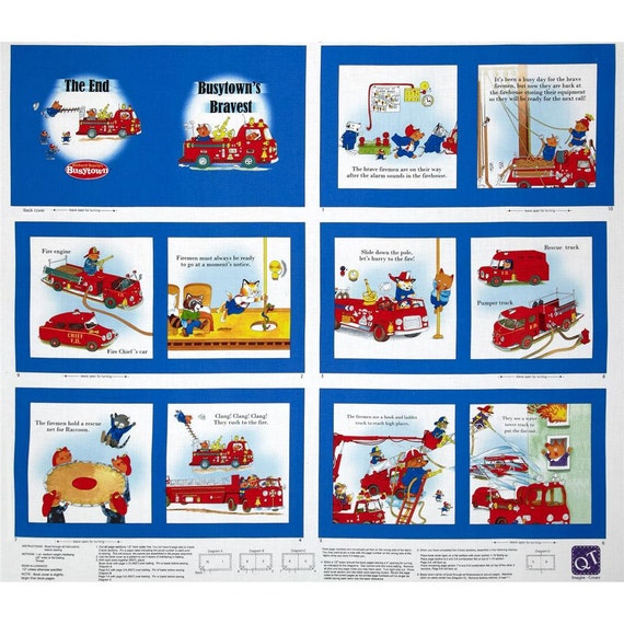 Firetruck To The Rescue By Qt Firetruck Fabric