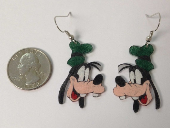 how to make shrinky dink earrings