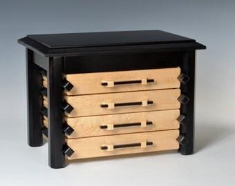 Oriental style Pagoda Jewelry Box