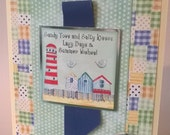 To a Very Special Boy! Sunny Days - Seaside Card, Handmade Card