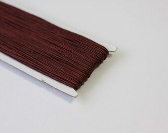 5.5 yards Dark brown Soutache Braid, Passementerie Braid, embroidery, Soutache cord, Passementerie cord Trim, gimp cord, russian braid