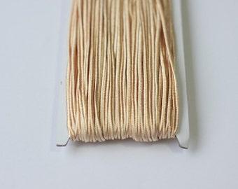 5.5 yards light peach Soutache Braid, Passementerie Braid, embroidery, peach Soutache cord, Passementerie cord Trim, gimp cord, soutache