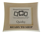 READY TO SHIP - 4x6 Quirky - unfinished picture frame