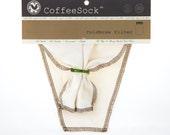 Reusable Organic Cotton DIY 64 oz. ColdBrew coffee filter