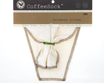 Reusable Organic Cotton DIY 32 oz. ColdBrew Filter
