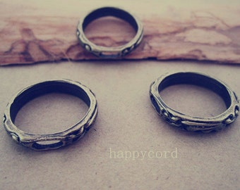20pcs antique bronze  circle Jump Ring Link  21mm