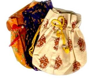 Printed Soft Cotton Mala Bag