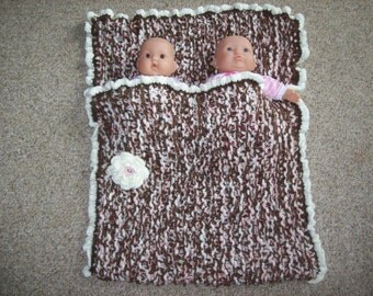 Twins,Sleep Sack,Cocoon,Hand Knit, Soft,Gift,Photo Prop,Infants,Newborn,Baby,Babies,Girl,Girls
