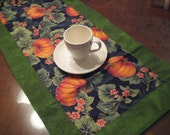 Beautiful Fall Table Runner. Length, 55 inches  by  13 1/2 inches wide.