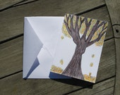 For The Love Of Autumn BLANK card