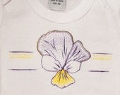 Purple Violet Flower for Baby Girl, beautiful baby gift