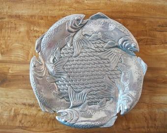 Arthur Court Rare Vintage Trout Plate - Item 2014-1001
