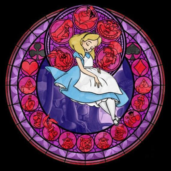 cross stitch pattern for alice kingdom hearts princess. Black Bedroom Furniture Sets. Home Design Ideas