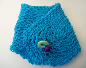 Turquoise Scarflette
