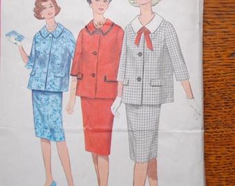 Vintage 1950s Simplicity Maternity Dress Pattern 3667 Size 14 Bust 34