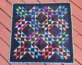 Tablerunner - Northern Lights- Handmade Quilt - table Topper