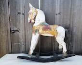 Large Vintage rocking horse