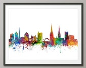 Coventry Skyline, Coventry England Cityscape (1066)
