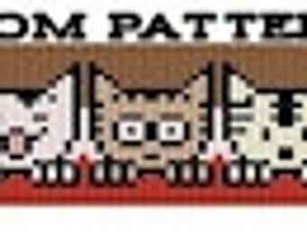 Goodnight Kitties - Loom Pattern - Instant Download