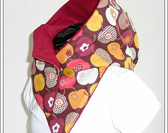 Hooded Scarf - Cotton Fleece