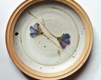 Australian Zen Studio Pottery, 1980s, Milton Moon, Large Plate 1