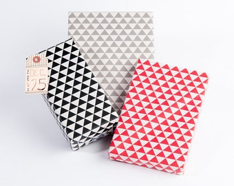 Triangular Print Wrapping Paper
