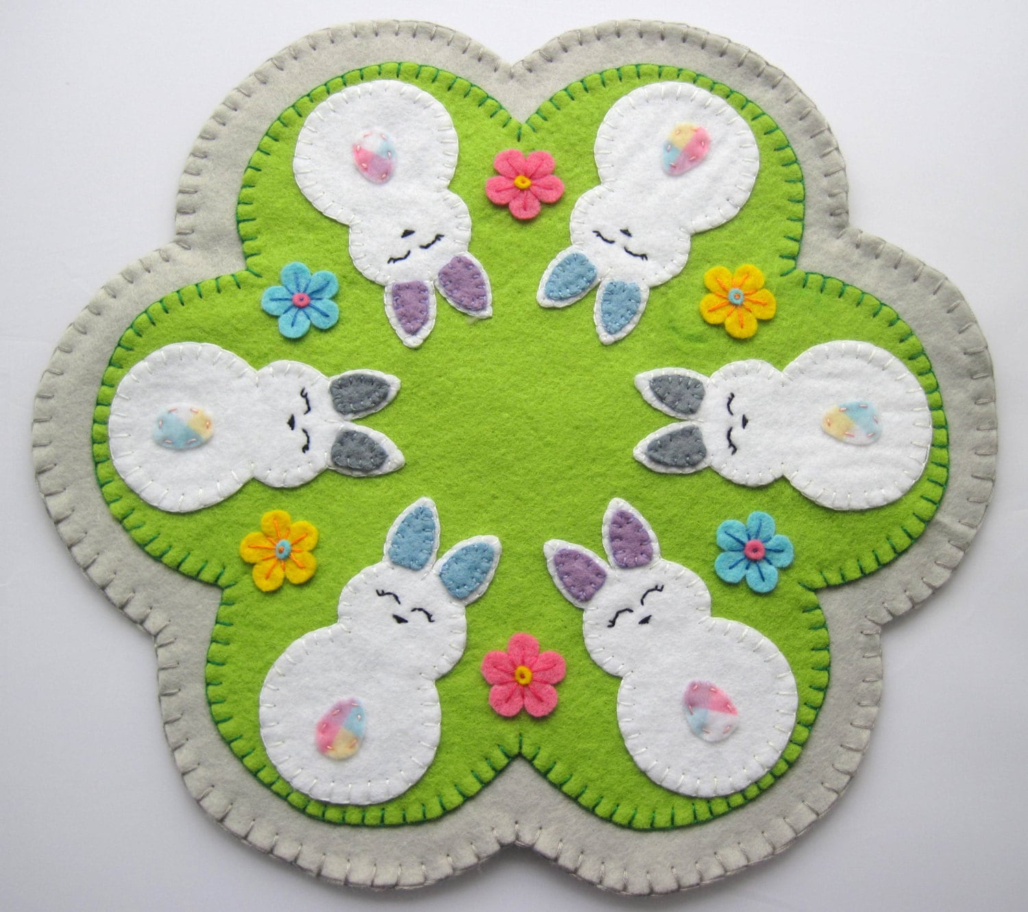 Easter Bunny Hand Embroidery Designs