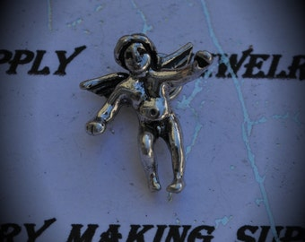 Angel Sterling Silver Plated Charm