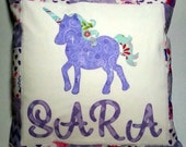 Personalised Applique Cushion