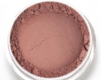 "Matte Neutral Pink Eyeshadow - ""Harmony"" - Medium Neutral Brownish Pink  - Vegan Mineral Eyeshadow Net Wt 2g"