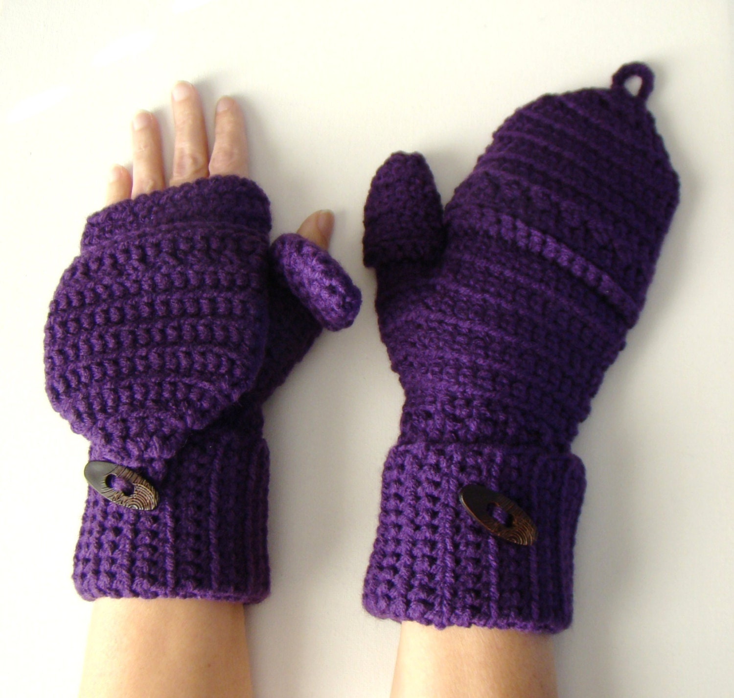 how to add a thumb to mittens
