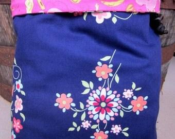 Royal Floral Project Bag - Phat Fiber