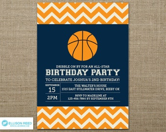 Basketball Party Invitations is an amazing ideas you had to choose for invitation design
