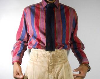 Dior/ Dior Shirt/ 90s Button Up Shirt/ Mens Dior/ Designer Clothing/ Christian Dior/ Button Up Shirt/ 90s Hip Hop Clothing/ Mens Button Up