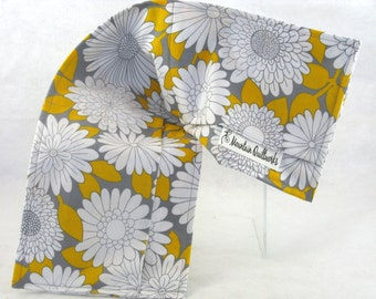Washable Microwavable Heating Pads - Yellow Daisy - Heating Pads - Flax or Rice