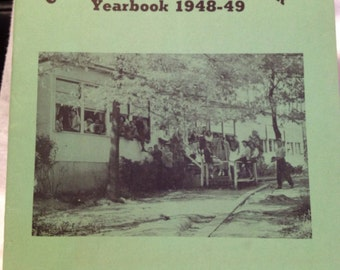 Vintage Greenbelt MD The Drop Inn Youth Center Yearbook 1948