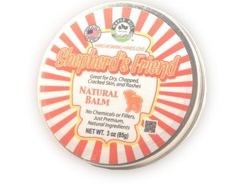 Shepherd's Friend Natural Balm 3oz
