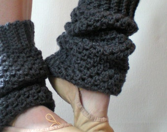 PATTERN:  Slouchy Warmers, Easy Crochet PDF, Ballet Dance Yoga Leg Warmers, old school, iNsTANt dOWNLOAD, Permission to Sell