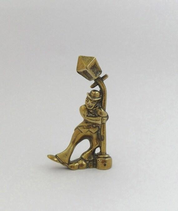 Items Similar To Vintage Brass Drunken Man Figurine